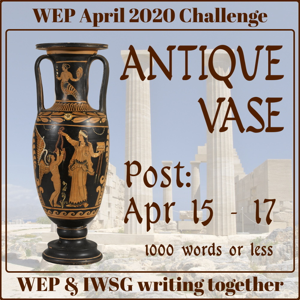 WEPFF Antique Vase Badge
